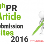 50 Free Article Submission Sites List With High PR
