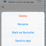 How to share link and text message on whats app from iOS app?